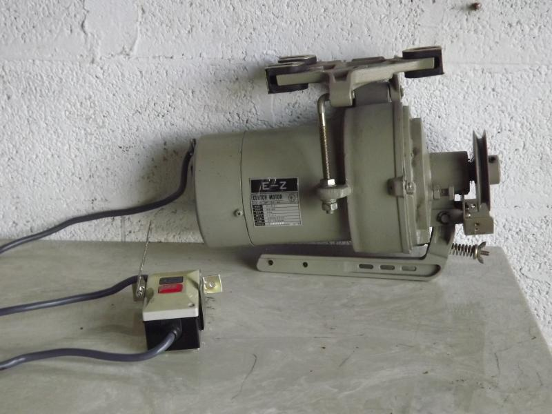 E -Z M12 220V 3PH Sewing Machine Motor 2