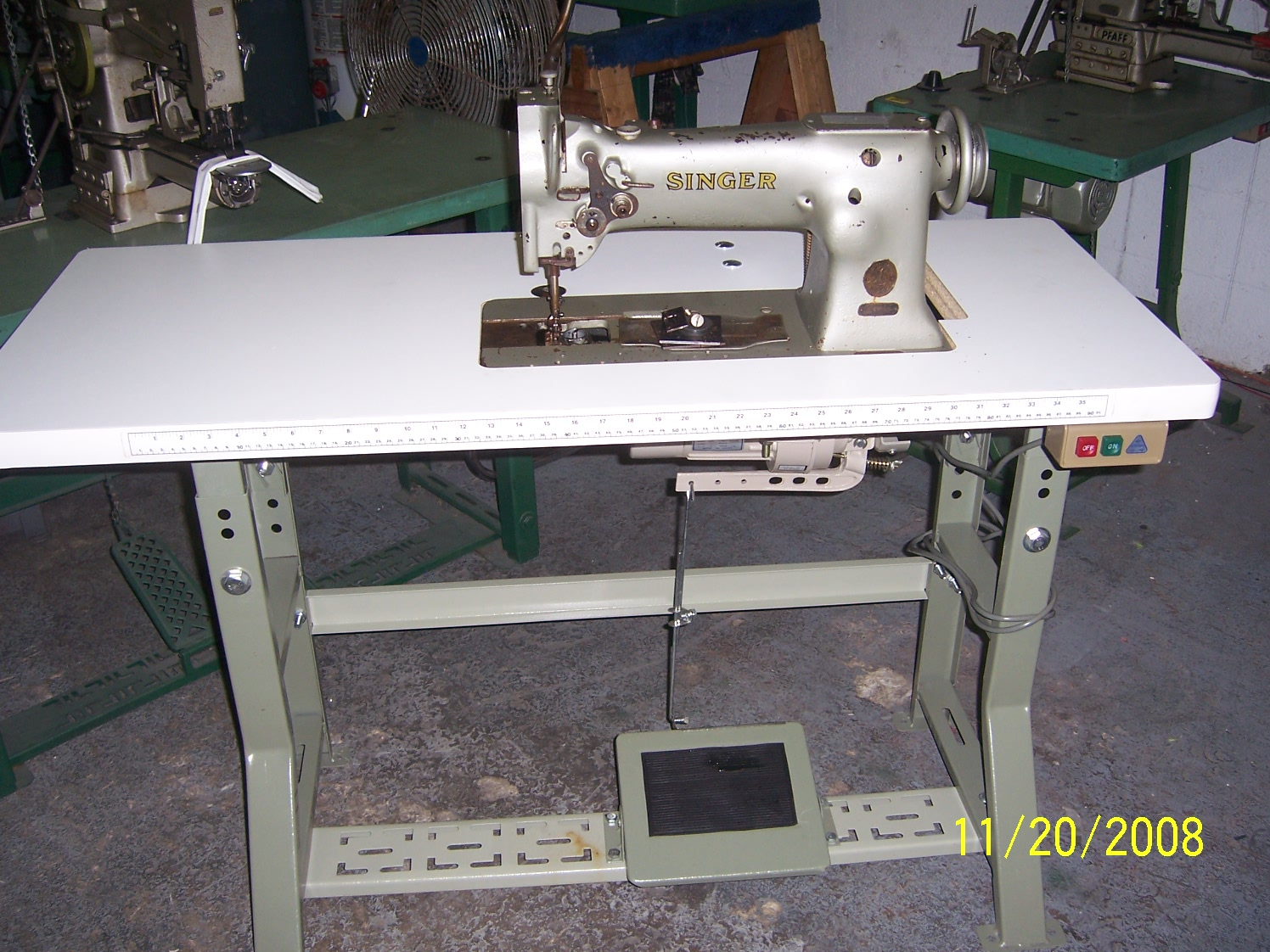 Singer111W WalkingFootSewingMachine